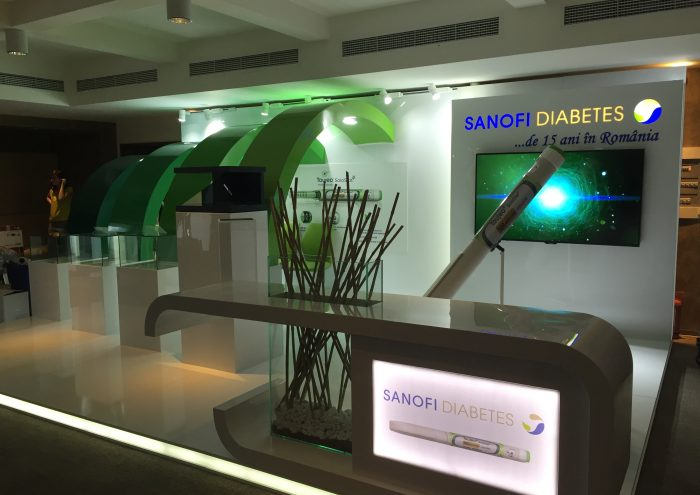 Productie stand Sanofi Diabet